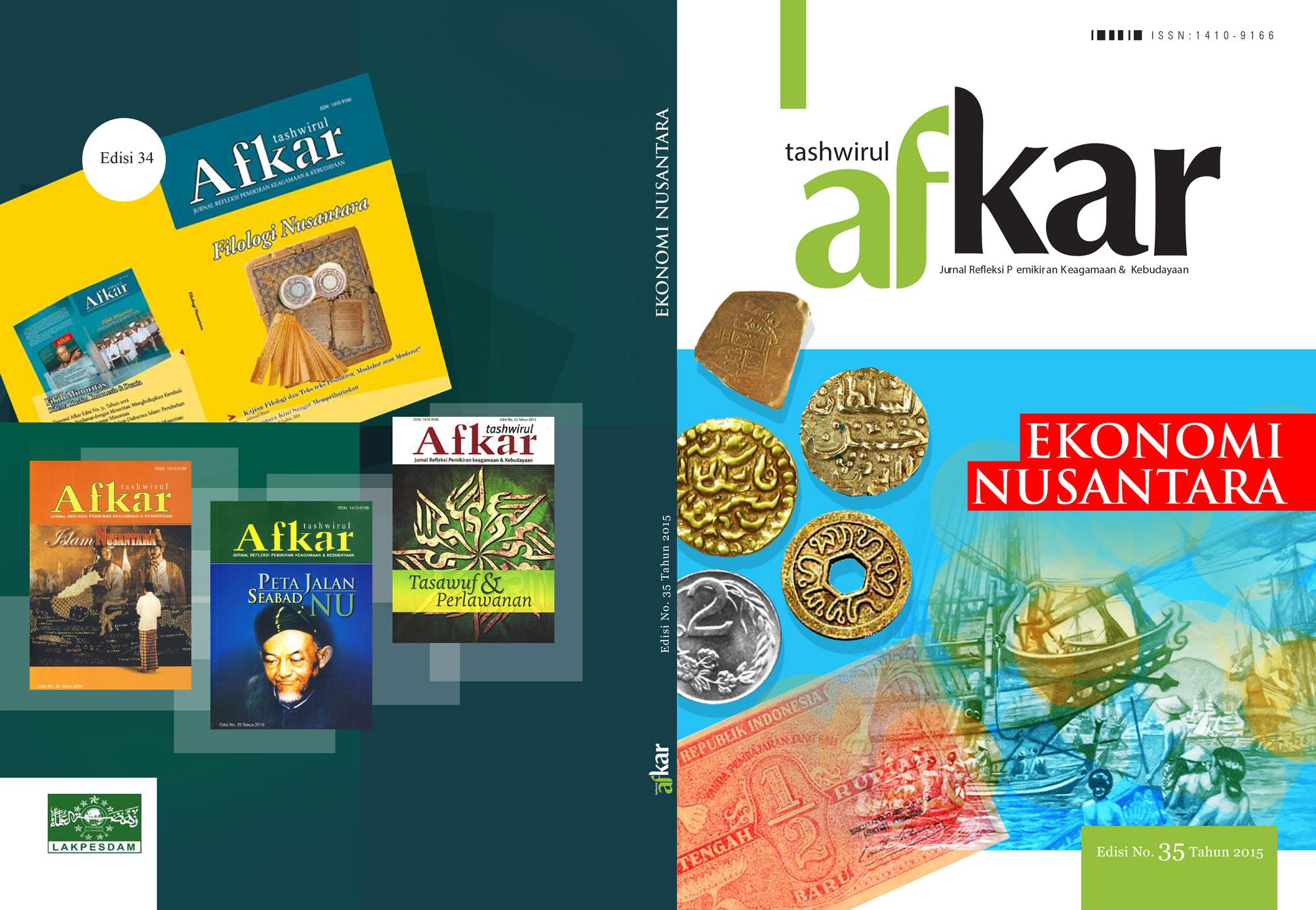 Ekonomi Nusantara dalam Jurnal Tashwirul Afkar