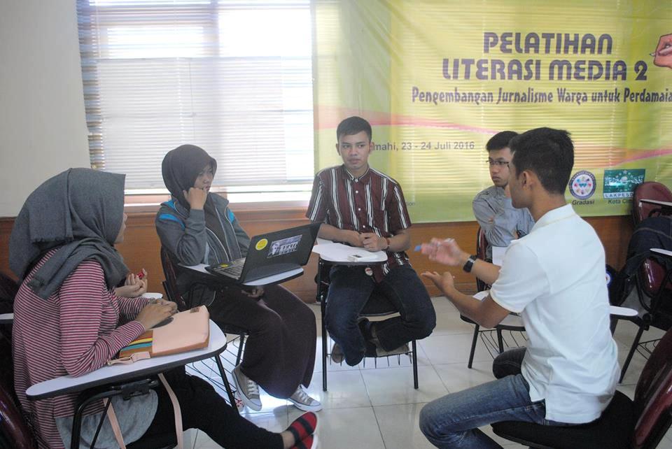 Bangun 'Cimahi Inklusi', Lakpesdam Cimahi Adakan Pelatihan Literasi Media