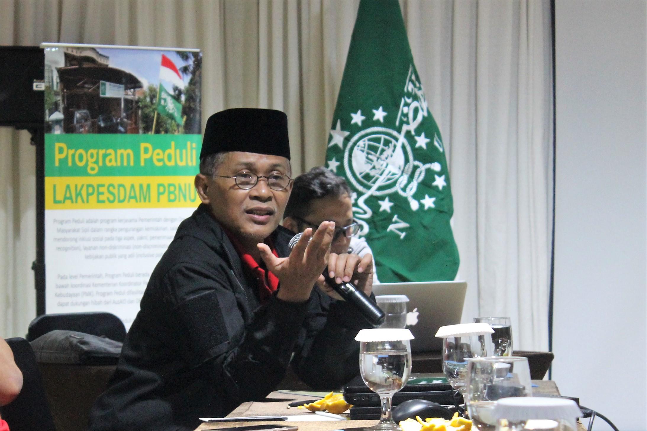 Perkuat Kampanye Inklusi Sosial, Lakpesdam PBNU Gelar Lokakarya Media